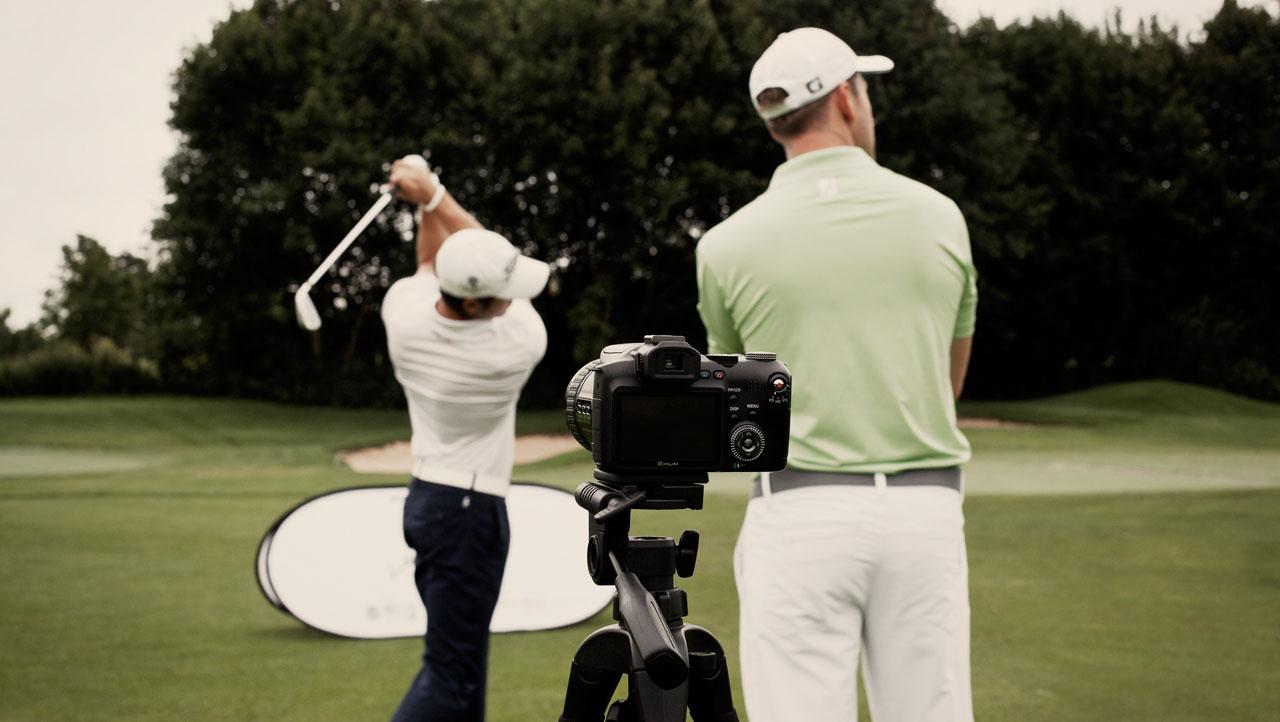 schwungebenen im golf